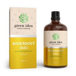AVOKÁDÓ OLAJ 100 % olaj magas E-vitamin tartalommal 100 ML